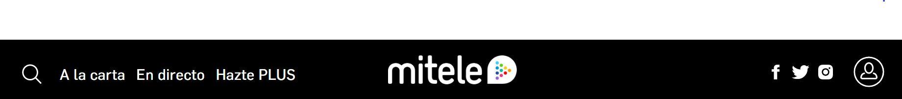Mitele es uno de los servicios streaming más utilizados.