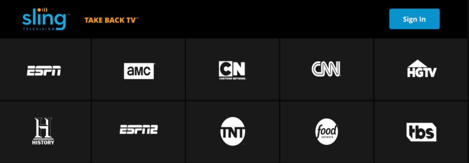 Puedes utilizar un VPN para ver SlingTV desde fuera de tu país